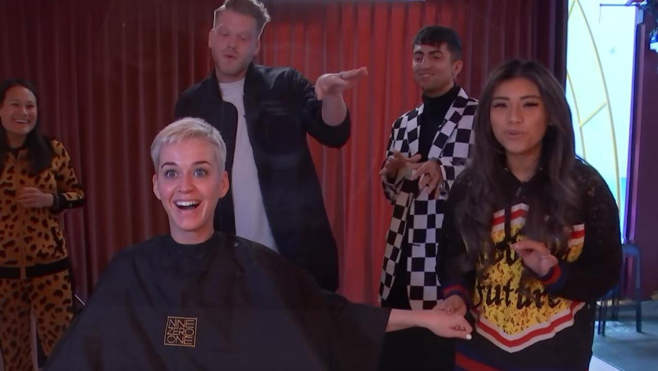 Pentatonix surprise Katy Perry with impromptu performance
