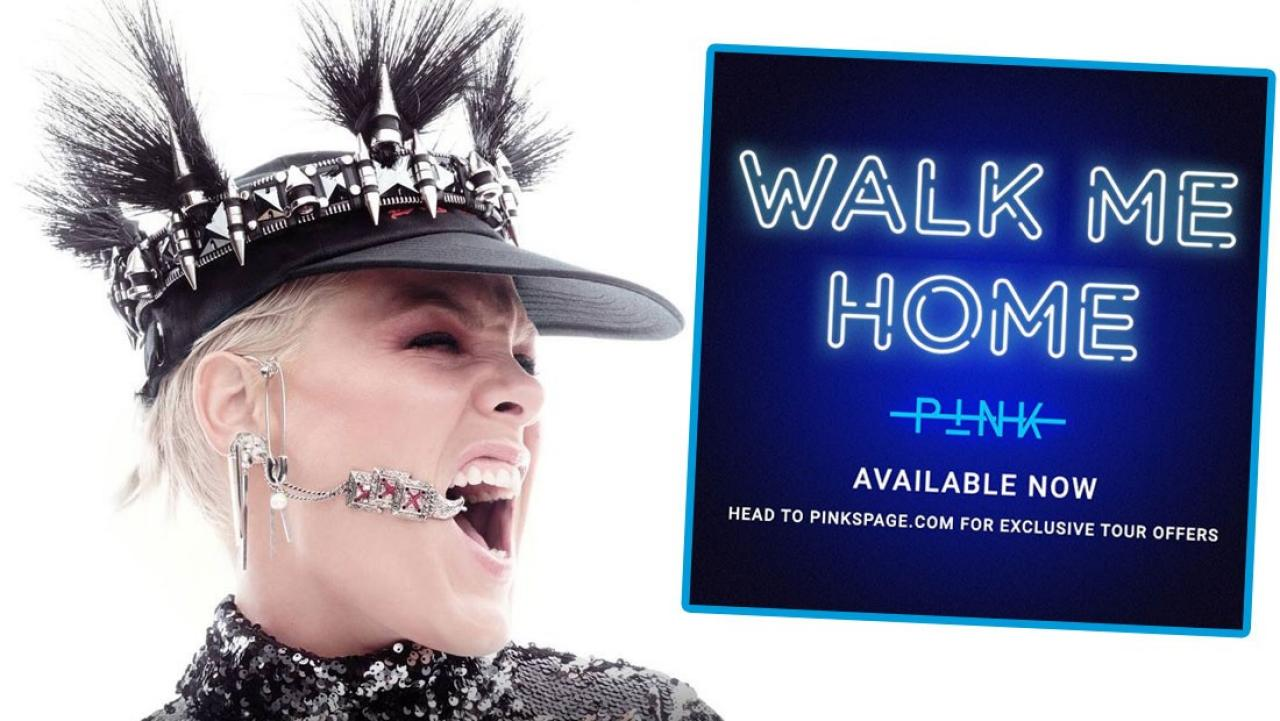 Pink releases brand new song 'Walk Me Home'