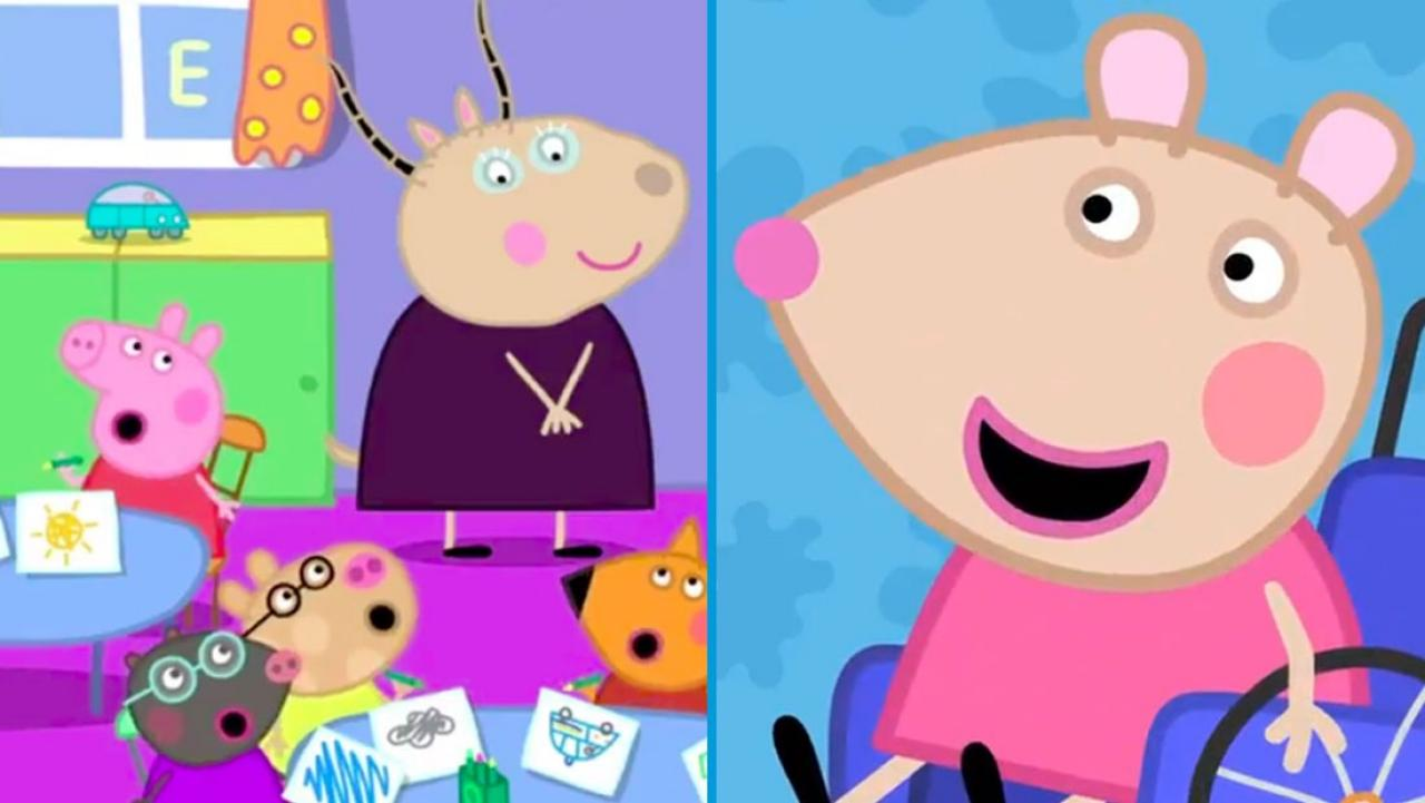 Parents Praise Peppa Pig For Introducing First Character With A