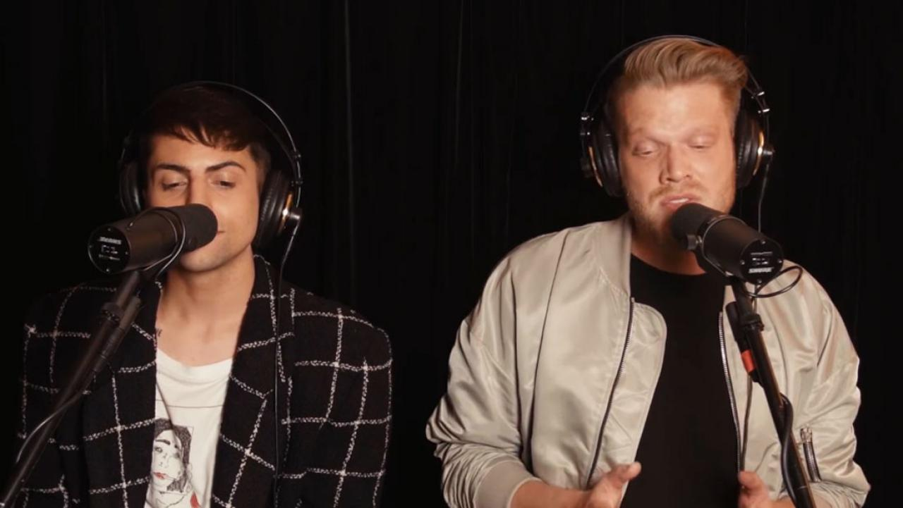 Pentatonix members team up for awesome Lady Gaga mash-up