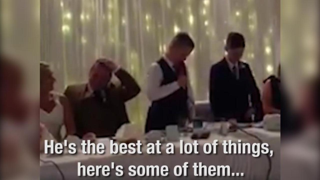Bride And Groom's Kids Put Together The Perfect Best Man