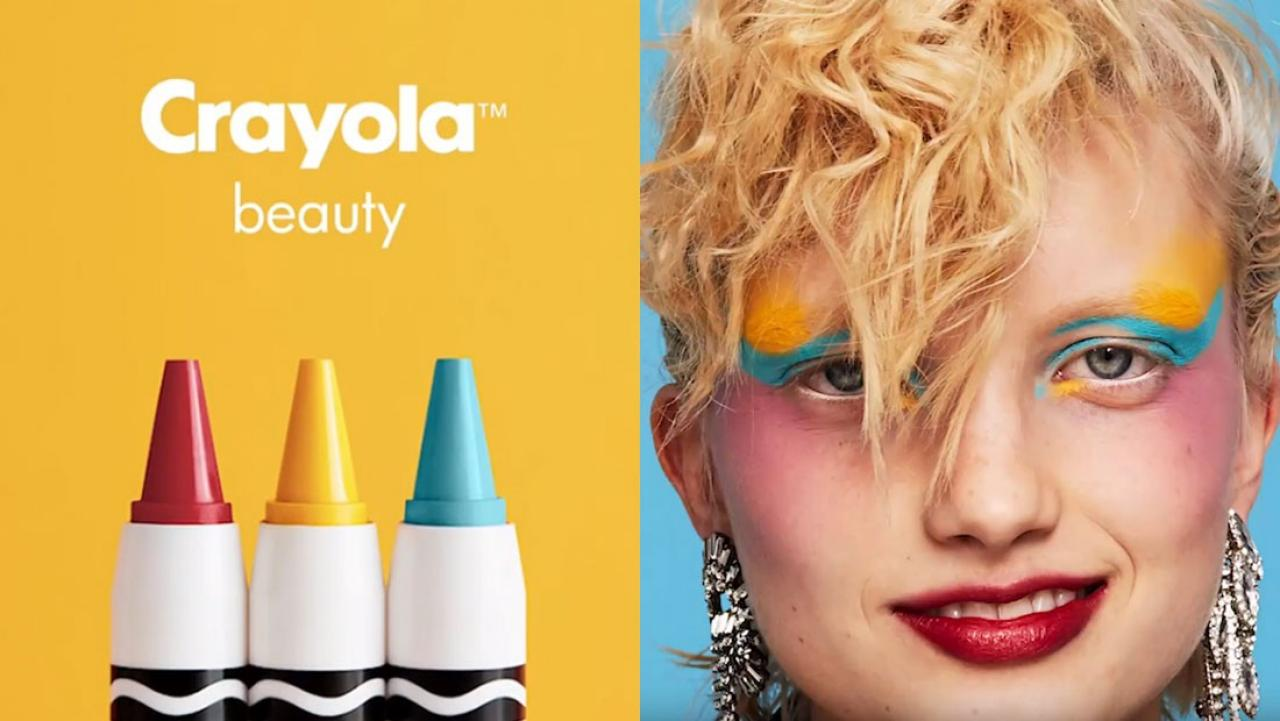 crayola crayons are bringing out their own makeup line