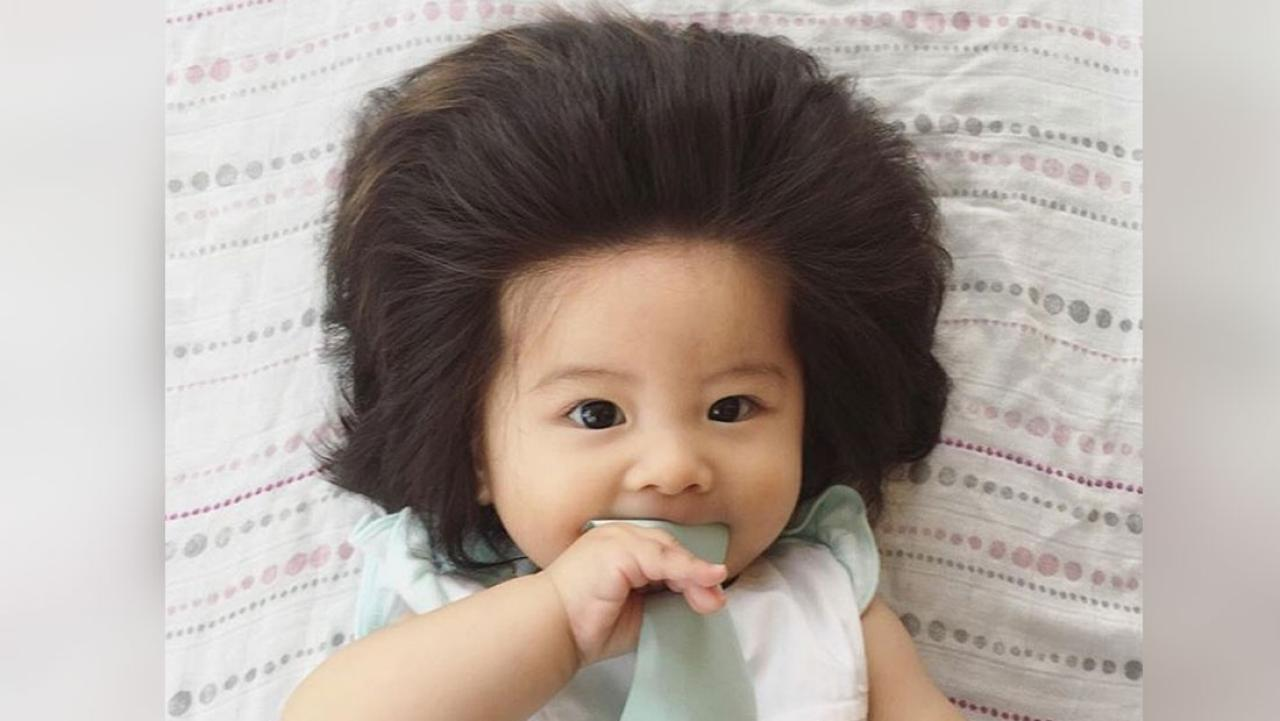 6 Month Old Girl Goes Viral With Her Incredible Set Of Hair