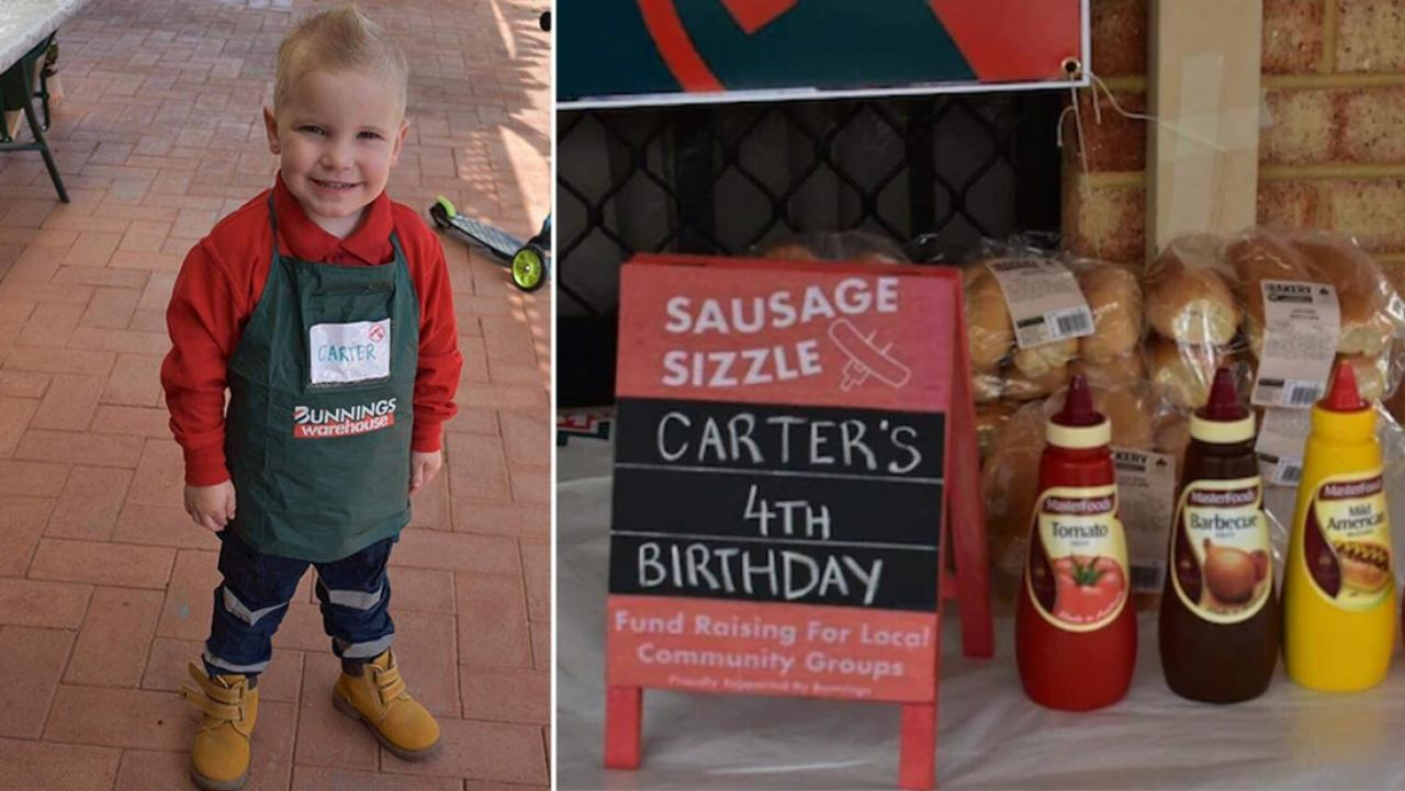 4 Year Old Boy Has Bunnings Themed Birthday Party