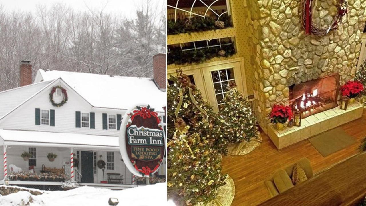 Christmas Inn.There Is A Hotel You Can Stay At Where It Is Christmas Every