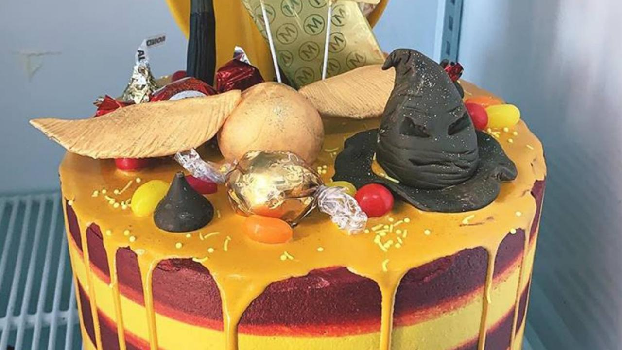 Kiwi Baker Creates Epic Harry Potter Themed Birthday Cake