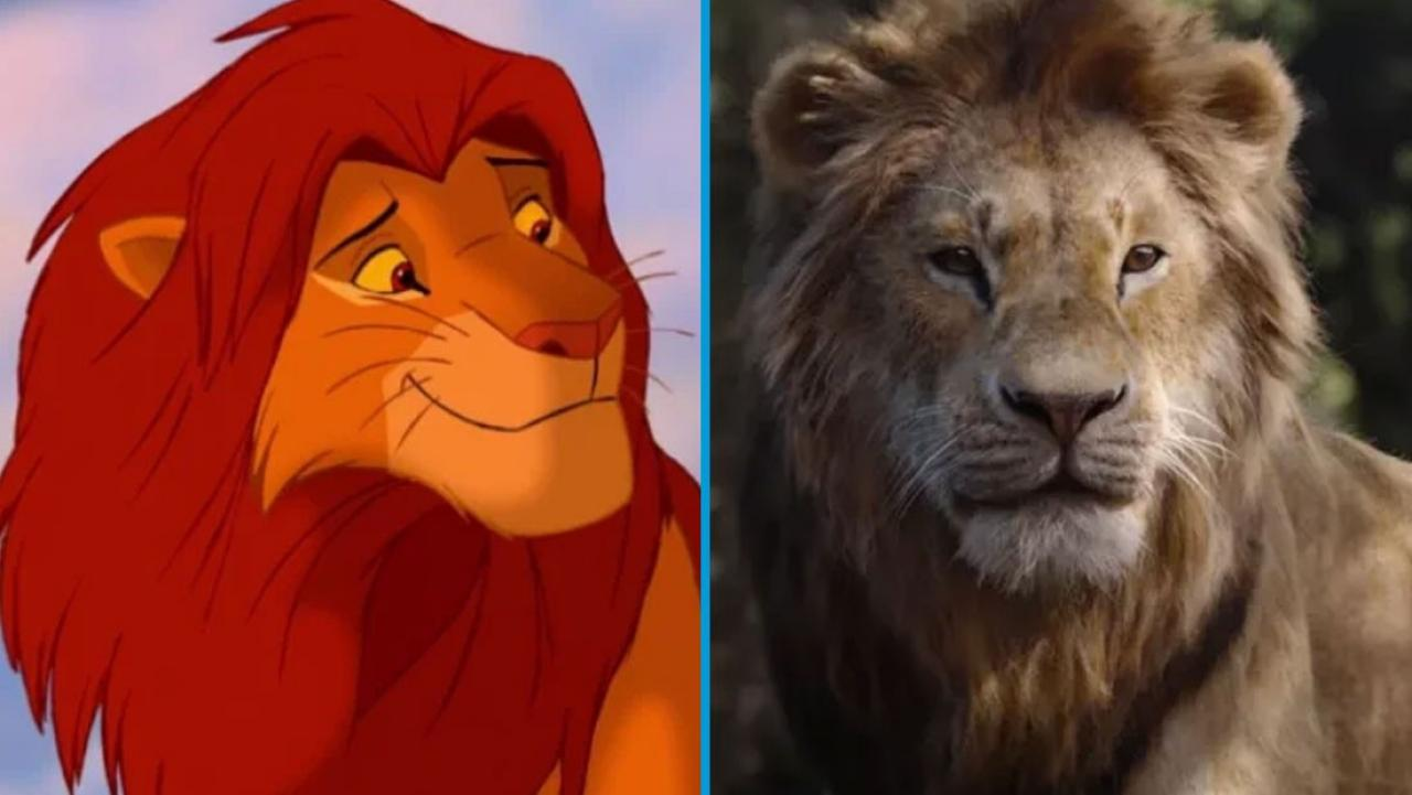 Here S What The Lion King Characters Looked Like In 1994 Vs 2019