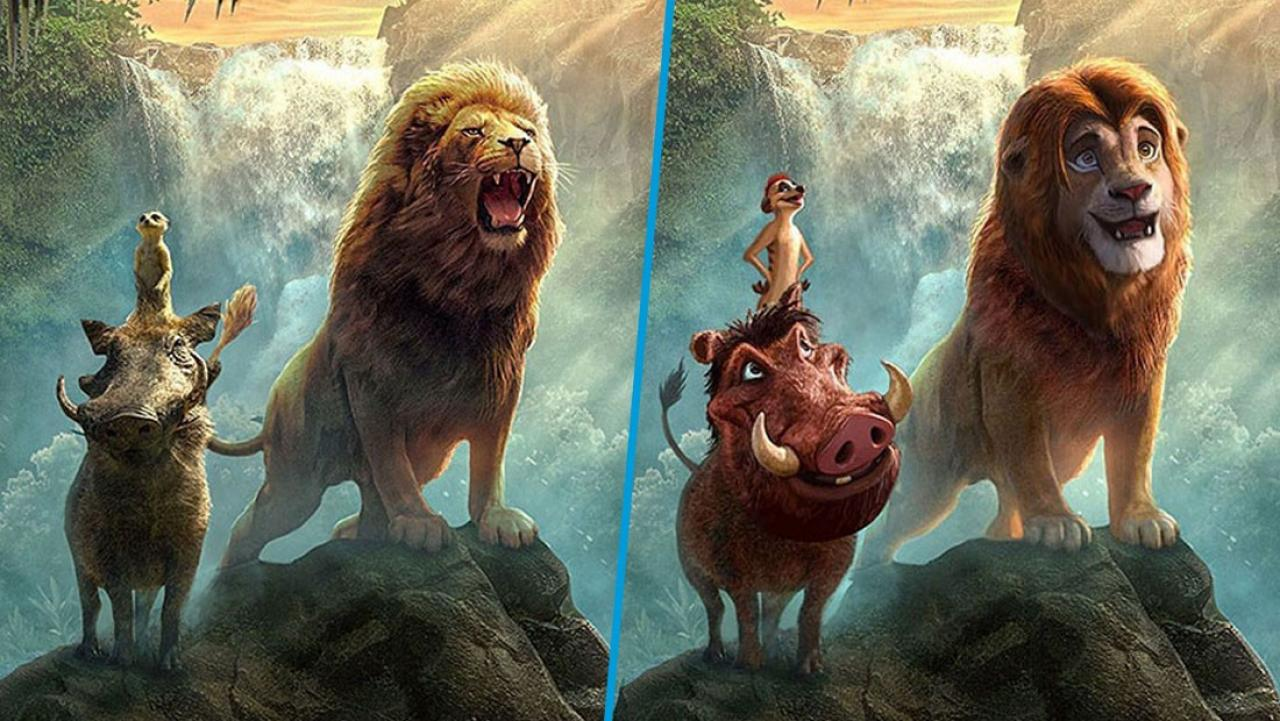 Viral Images Show What Lion King Characters Couldve Looked